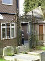 Churchyard railings and gate, Rolleston on Dove.jpg