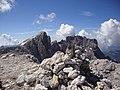 Cima BURELONI M 3130 (di fronte la Vezzana e il Cimon della Pala) - panoramio.jpg