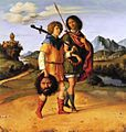 Cima da Conegliano - Gionata e david con la testa di Golia 1505.jpg