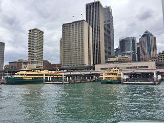 Circular Quay ferry wharf Sydney Ferries ferry wharf