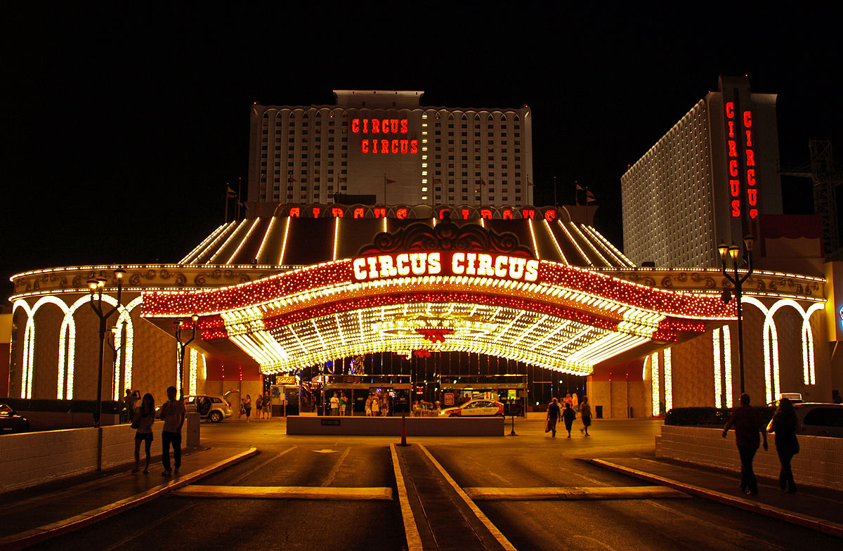 is circus circus casino on the strip