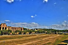 Circus Maximus north view from Aventine hills.jpg