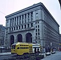 City-County Building (Pittsburgh) in 1984 with streetcar on 4th.jpg