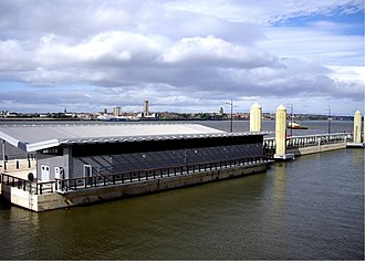 Liverpool Cruise Terminal - Image: City of Liverpool Cruise Terminal geograph.org.uk 563502