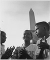 Civil Rights March on Washington, D.C. (Children near the Washington Monument.) - NARA - 541995.tif
