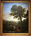 Claude lorrain, paesaggio con agar e l'angelo, 1656.JPG