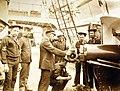 "Cleaning 6"" gun aboard USS San Francisco (C-5) (25969231701).jpg"