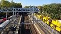 Cleland railway station, the Shotts Line, North Lanarkshire - view towards Glasgow.jpg