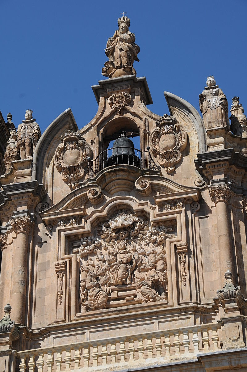 Clerecía church in Salamanca 02.JPG