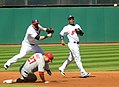 Cleveland Indians vs. Los Angeles of Anaheim (15194496582).jpg