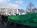 """Climate protection banner at the """"Mietenwahnsinn Stoppen!"""" Demonstration in Berlin in April 2018 05.jpg"""