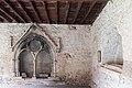 Cloître de la Cathédrale Saint Lizier-Enfeu gothique-Tombe d'Auger de Montfaucon-20150501.jpg