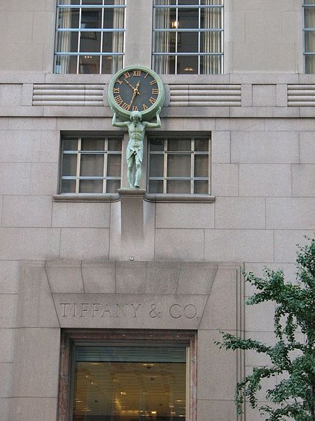File:Clock Tiffany & Company Building.jpg