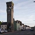 Clock Tower, High Street, Gatehouse of Fleet - view from N.jpg