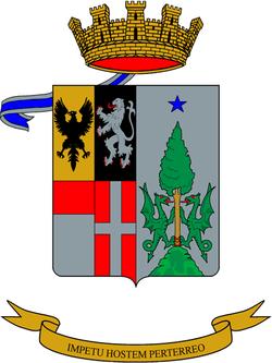 Stemma Reggimento Lancieri di Montebello