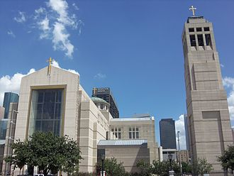 Co-cathedral - Co-Cathedral of the Sacred Heart in Houston, Texas.