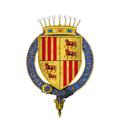 Coat of Arms of John de Foix, Captal de Buch, KG.png