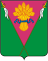 Coat of Arms of Platnirovskoe (Krasnodar krai).png