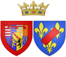 Coat of arms of Catherine Henriette de Bourbon, Légitimee de France as Duchess of Elbeuf.png