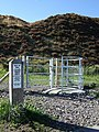 Coity Tip Trail, Swing Gate - geograph.org.uk - 579059.jpg