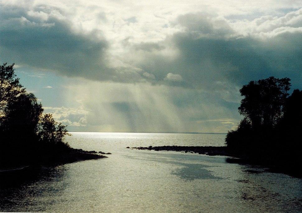 Cold Lake from Meadow Lake Prov. Park, Saskatchewan