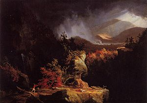 Fort Ticonderoga - Thomas Cole's Gelyna, View near Ticonderoga
