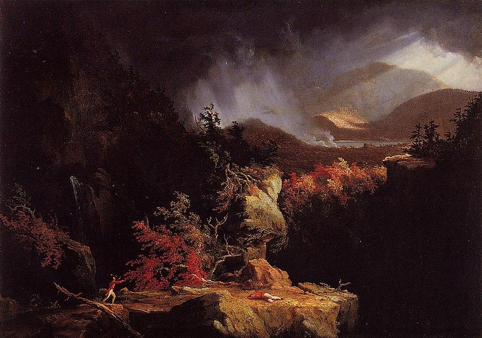 Cole Thomas Gelyna (View near Ticonderoga) 1826-1828.jpeg