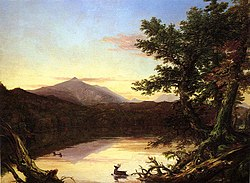 Thomas Cole: Schroon Lake