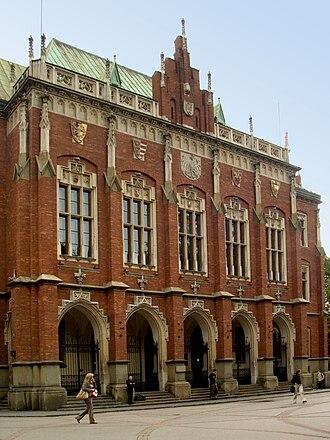 Collegium Novum - Front entrance