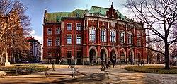 Collegium novum fasada