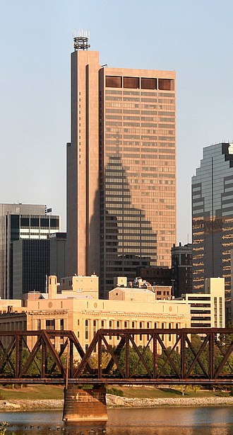 Rhodes State Office Tower - Image: Columbus ohio rhodes state office tower