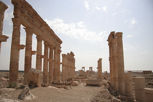 Columns and Tetrapylon, Palmyra