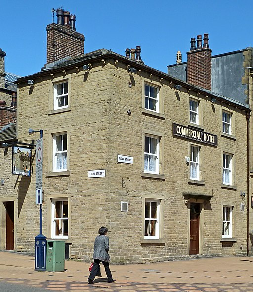 Creative Commons image of The Commercial Hotel in Huddersfield