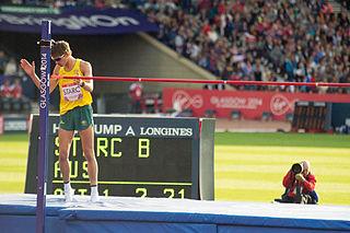 Brandon Starc Australian high jumper