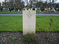 Commonwealth War Grave in Jarrow Cemetery (WW2-15) - geograph.org.uk - 1604826.jpg