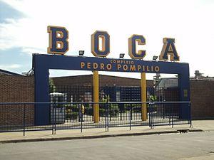 "Boca Juniors Reserves and Academy - ""Complejo Pedro Pompilio"", current venue of Boca Juniors reserve teams."