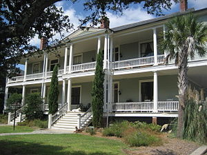 Sullivan's Island, South Carolina - Circa 1900 building on Sullivan's Island, renovated for use as condominiums