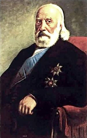 Constantine Kanaris - Konstantinos Kanaris, painting at the National Historical Museum of Athens