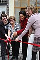Consul General Inmi Patterson inaugurated a bilingual nursery at Villa Guggenheim, 2011.jpg