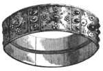 The Iron Crown with which Lombard rulers were crowned