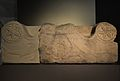 Coronament d'altar funerari, cap al 100 dC, Centre Arqueològic de l'Almoina.JPG
