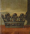 Coronet of a child of France from a painting of Marie de Bourbon, Duchess of Montpensier and Duchess of Orléans by an unknown artist.jpg