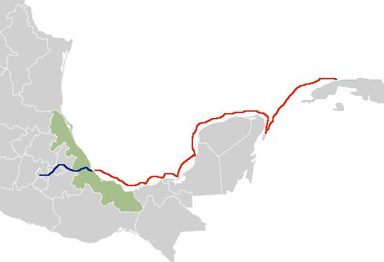 Cortés Ruta Cuba-Tenochtitlan