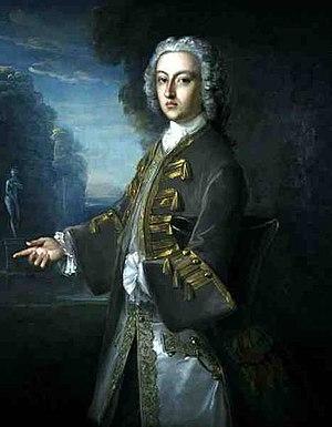 Cosmo Gordon, 3rd Duke of Gordon - Portrait, oil on canvas of Cosmo Gordon, 3rd Duke of Gordon (1720–1757) by Philippe Mercier (1689–1760)