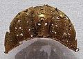 Costa d'avorio, baule, pendenti in oro, xx secolo, 02 maschera a mezzaluna.jpg
