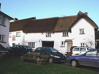 Iddesleigh - Image: Cottages, Iddesleigh geograph.org.uk 1135400