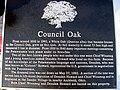 Council Oak plaque, Winameg, Ohio.JPG