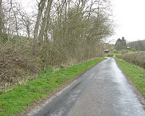 Country road heading for Old Belses in the Scottish Borders (geograph 1811923).jpg
