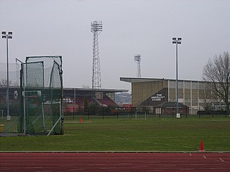 County Ground (Swindon) - The County Ground and adjacent Athletics ground
