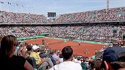 Court Philippe Chatrier, 2011 Roland Garros.jpg